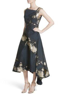 5169f3f6b47d Main Image - Rubin Singer Jacquard Draped Asymmetrical Dress Asymmetrical  Dress