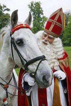 Sinterklaas en Amerigo.