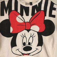 Vintage 80's 90's Disney Minnie Mouse Sweat Shirt Sweatshirt Large  | eBay