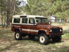 1983 Land Rover Defender - Defender Source County - love the stripes
