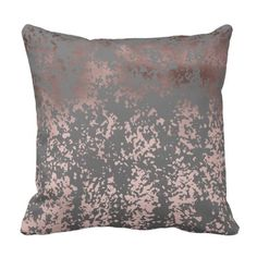 Black Gold Bedroom elegant faux rose gold and grey brushstrokes throw pillow - Modern and stylish design representing faux rose gold and grey brushstrokes. Diy Pillows, Custom Pillows, Throw Pillows, White Decorative Pillows, Decorative Pillow Cases, Black Gold Bedroom, Black Gold Jewelry, Pillow Arrangement, Hacks