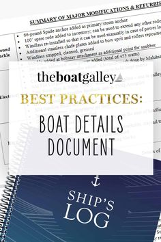 Need to know your boat details? Here's how to have all the model numbers, sizes, when installed and more available at your fingertips. Try To Remember, I Need To Know, Gifts For Boaters, Knowing You, Numbers, Stress, Learning, Live, Detail