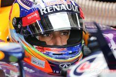 Daniel Ricciardo, Red Bull Racing @ the 2014 Petronas Formula 1 Grand Prix in Kuala Lumpur, Malaysia