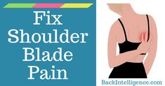 Easy Exercises and Stretches to relieve your upper back pain between shoulder blades. Find out the causes, symptoms and self massage techniques to fix the sharp pain in your shoulder blades area. Massage Tips, Self Massage, Massage Techniques, Massage Therapy, Shoulder Stretches, Shoulder Massage, Shoulder Pain Relief, Back Pain Relief, Pain In Back
