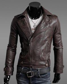 Black Leather Biker Jacket : Photo | Leather jackets | Pinterest ...