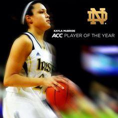Kayla McBride Player of The Year!