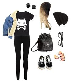 """""""Untitled #5515"""" by northamster ❤ liked on Polyvore featuring Oasis, Grayson, ssongbyssong, Phase 3, H&M, Vans, women's clothing, women's fashion, women and female"""