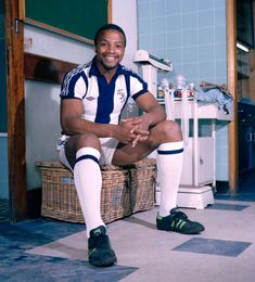 West Bromwich Albion footballer Cyrille Regis, circa August (Photo by Harry Goodwin/Paul Popper/Popperfoto/Getty Images) Pure Football, Retro Football, Football Kits, Football Soccer, West Bromwich Albion Fc, Fa Cup, My Hero, Sportswear, Sporty