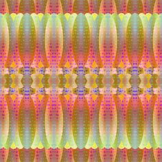 MUSIC DRUMS MARIGOLD YELLOW  CORAL BOHO SUNNY AFTERNOON STRIPES fabric by paysmage on Spoonflower - custom fabric