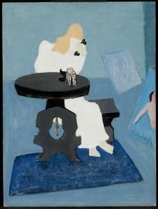 Two Chickens by Milton Avery (1885-1965, United States)