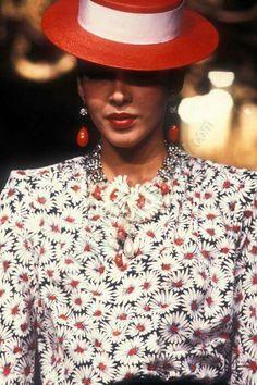 YSL H.C 1983 Model Dalma Callado
