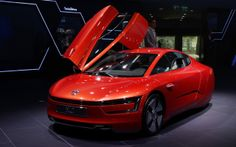 2013 Volkswagen XL1 IAA Frankfurt Motor Show Wallpaper Free Download. Resolution 2560x1600 px - GreatCarWallpaper ID 1408