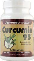 Jarrow Formulas Curcumin 95™ -- 500 mg - 60 Capsules - at Vitacost save 46% - $ 14.01