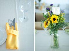 морская подсолнушная свадьба :) - flowerslovers