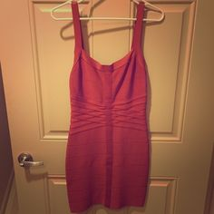 BEBE wrap slimming dress, party dress! Bebe wrap dress. Has minor fuzz in one or two areas but otherwise is in great condition! I wore it in Vegas twice and that's it. Great holiday/Vegas/party dress/etc. Since it's a wrap dress, it sucks everything in and makes you look super slim! Great color on all types! Not super short either which is great so it never rides up. Looks classy and not trashy on :) bebe Dresses Mini