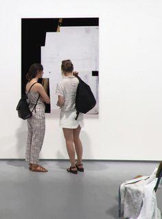 Francesco De Prezzo  NULL SERIE, painting serie show view