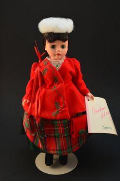 Madame Alexander doll Victorian Skater 10 by CoastalVintageCachet