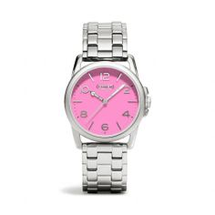 Love this watch, plus it's waterproof. The Sydney Stainless Steel Bracelet Watch from Coach