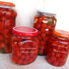 Ketchup, Salsa, Goodies, Stuffed Peppers, Canning, Vegetables, Food, Diet, Canning Recipes