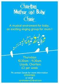 Chorlton Mother and Baby Choir | Chorlton cum Hardy | Manchester & Trafford | Mumsnet Local