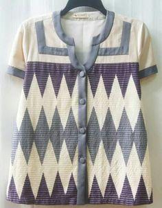 Hsgsjs Batik Blazer, Blouse Batik, Batik Dress, Zig Zag Dress, Batik Kebaya, Batik Fashion, Ankara Designs, Kids Fashion, Womens Fashion