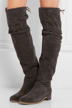 SEE BY CHLOÉ Suede over-the-knee boots