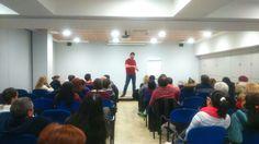 Ayer en Getxo con nuestra conferencia gratuita de nuestro evento del próximo 7 de Febrero con nuetro coach Lain Garcia Calvo ... #caminaporelfuego #sisepuede #firewalking #superacion  www.caminaporelfuego.com