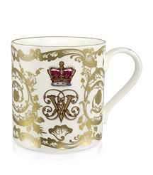 Royal Collection Trust Victoria and Albert Coffee Mug Designer Brands List, Royal Collection Trust, Victoria And Albert, Luxury Beauty, Harrods, Coffee Mugs, Branding Design, Fine Jewelry, Antiques