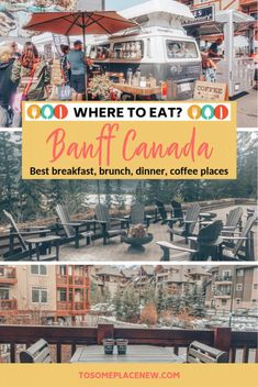 Banff Canada food tips and best places to eat in Banff national park | Banff Canada downtown and Banff Canada restaurants list to try while you are at the national park | Where to eat in Banff Canada? #banff #foodtips