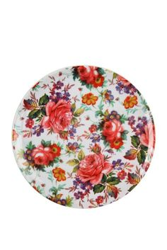 picnic plate FLORAL