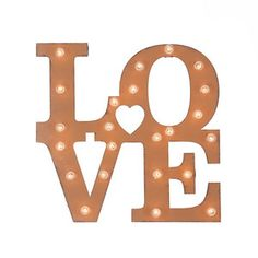 LO-VE Marquee Sign
