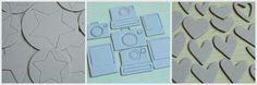 MR Lucky Stars, Say Cheese & Confetti Hearts Chipboard Set