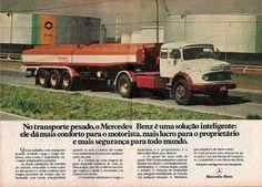 Anúncio caminhão Mercedes-Benz LS-1924 A – 1979