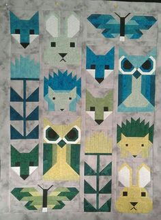 Baby quilt by Laura DeMartino