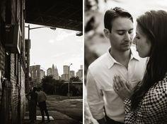 brooklyn wedding photographer - Divine Light Photography DUMBO engagement photo shoot