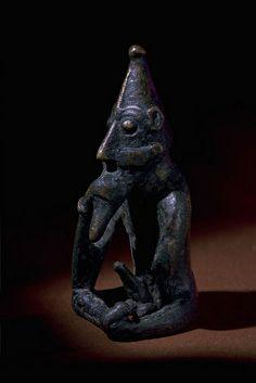 16509 Ancient Bronze God Frö Lunda, Södermanland, Sweden Sverige by saamiblog, via Flickr