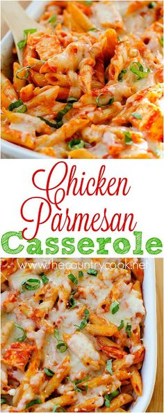 The Country Cook: Chicken Parmesan Casserole