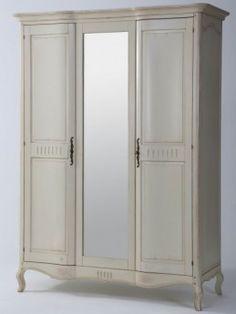 Kleiderschrank Vintage U2013 Birke Massiv U2013 Weiß Bei Moebelkultura Bestellen.  Möbel Direkt Vom Hersteller, Versand Und Trusted Shops Zertifiziert.