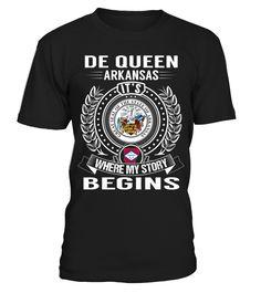 De Queen, Arkansas - My Story Begins