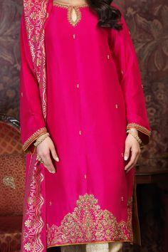 Nazneen (Two Piece) Beautiful Pakistani Dresses, Pakistani Formal Dresses, Pakistani Wedding Outfits, Pakistani Bridal Wear, Pakistani Dress Design, Indian Dresses, Pakistani Clothing, Wedding Hijab, Indian Bridal