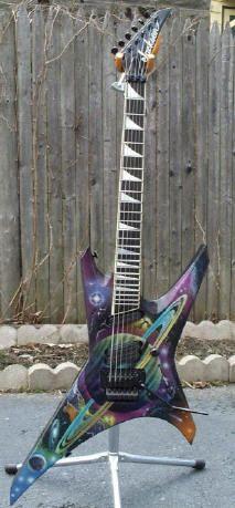 Obscure Guitar Gallery - Ed Roman Guitar King of Las Vegas