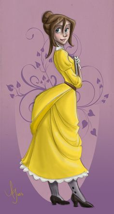 Disney Jane, Disney Magic, Clayton Tarzan, Tarzan And Jane, Jane Porter, Disney Divas, Disney Silhouettes, Walt Disney Studios, Disney Fan Art