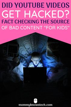 When surprising, inappropriate content shows up in kids videos on YouTube, people sometimes say the videos (or YouTube itself) were hacked. Let's do some fact checking about where this content comes from and how you can keep your kids safe on YouTube. Teaching Technology, Teaching Biology, Internet Safety For Kids, Cyber Safety, Parental Control, Kids Videos, Raising Kids, Life Science, Preschool Activities