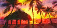 Buy a Florida Keys poster art print