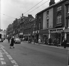 Archive photos of Broad Street Mall under construction in the 1970s when it was known as the Butts Centre