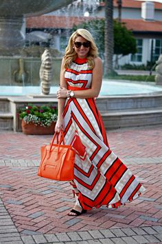 Outfit | Resort Wear Ready Vacation Beach Maxi Dress