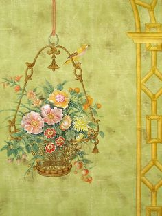 Say hello to my newest sponsor, Paul Montgomery.maestro of murals! - The Enchanted Home Silk Wallpaper, Enchanted Home, Hello To Myself, Mural Painting, Home Wall Decor, Love Design, Say Hello, Chinoiserie, Cat Art