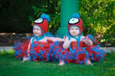Image result for thing one and thing two infant costumes