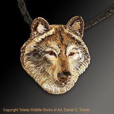 2dc2eabdb Wolf Pendant