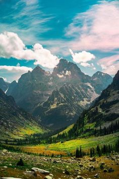 Grand Teton National Park Wyoming US